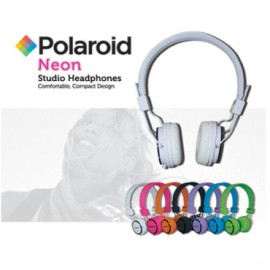 Polaroid Neon Studio Head Phones
