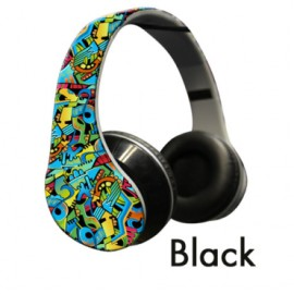 Polaroid Underground Graffiti headphones
