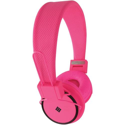 Polaroid bluetooth headphones Pink