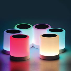 Polaroid Bluetooth Touch Speaker with 7 LED light effects – PBS388