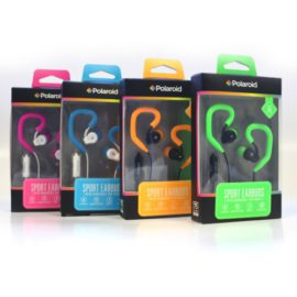 Polaroid Sports Earbuds with built in Mic