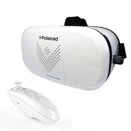 Polaroid Virtual Reality Headset with Bluetooth Remote Control