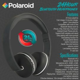 Bluetooth 24 hour Playtime Headphone