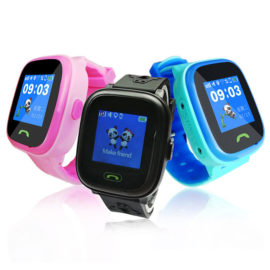Polaroid Active Kids GPS Tracking Splashproof Watch – with Touchscreen