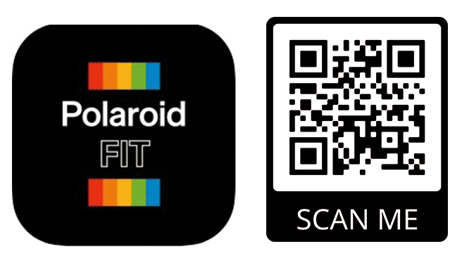 Polaroid-fit-and-qr-code